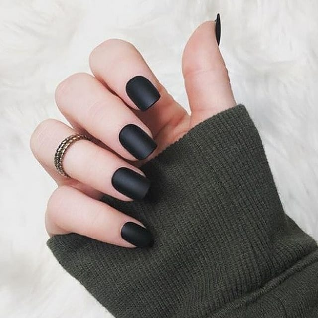 Mysterious and Audacious Matte Black