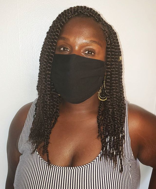 Awesome Shoulder Length Kinky Twists