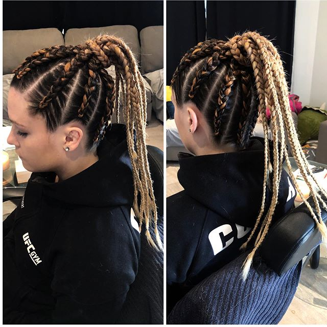 Radiant Braided Style For Women