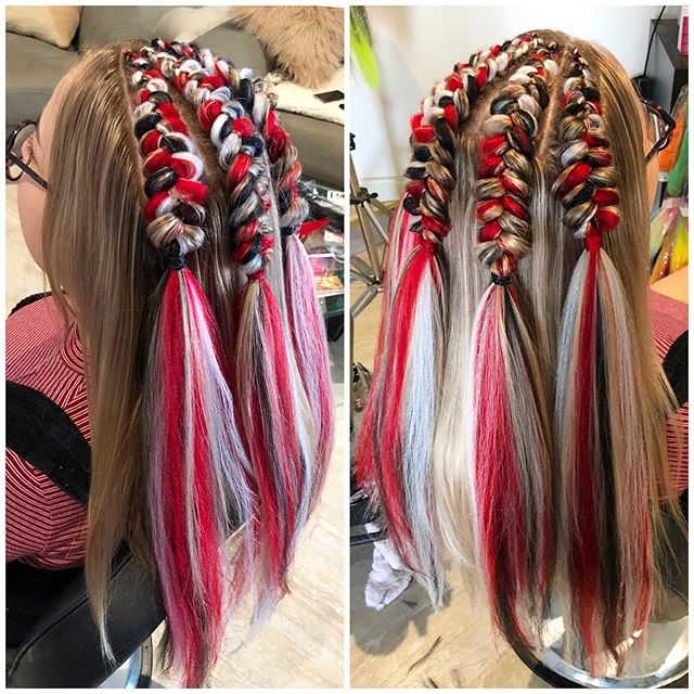 Jazzy Braided Style For Young Ladies