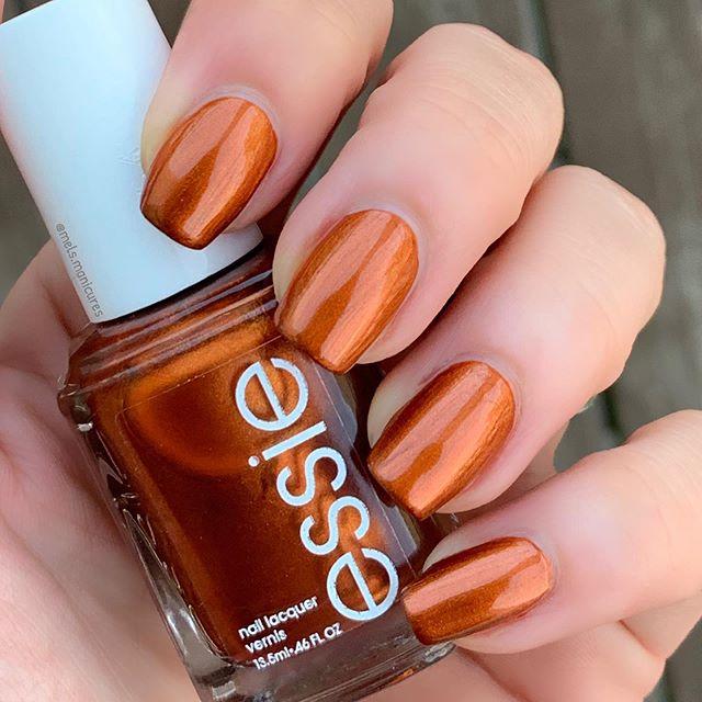 Sweet and Sour Metallic Orange