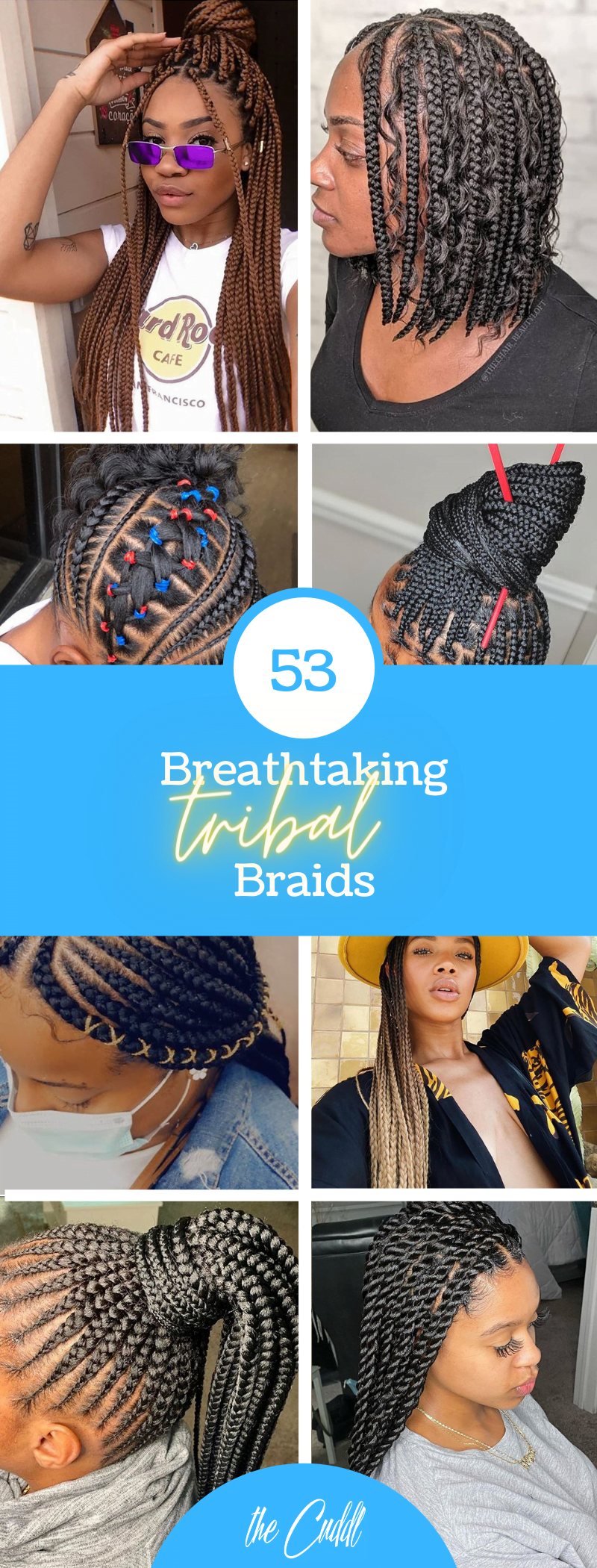 50 Mind-Blowing Tribal Braids Hairstyle Ideas Perfect For Everyday Living