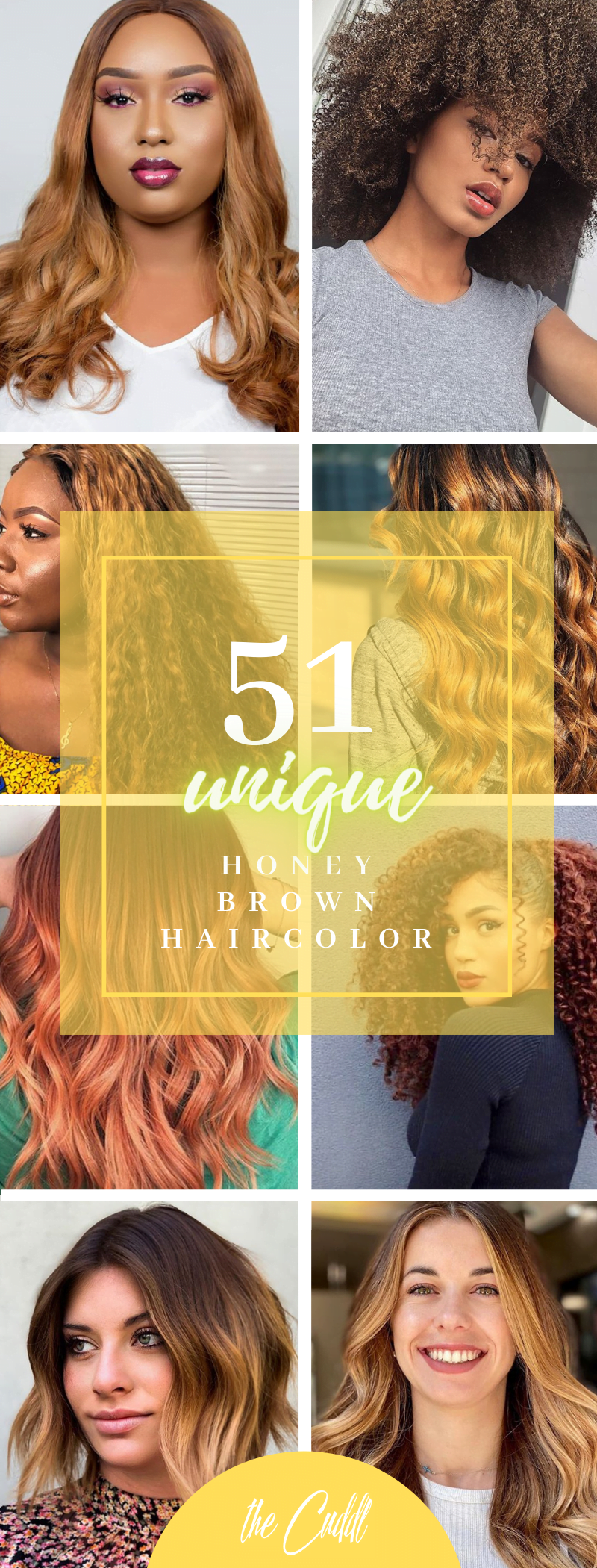 50 Fast and Fabulous Honey Brown Hair Ideas You're Gonna Love