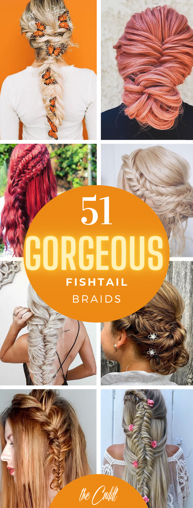 50 Amazing Fishtail Braid Hairstyles to Inspire You