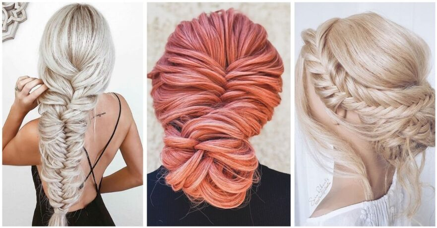50 Cute and Easy Fishtail Braid Hairstyles That Will Look Awesome On You