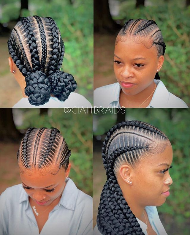 Stunning Feed-In Best Cornrow Braids and Buns