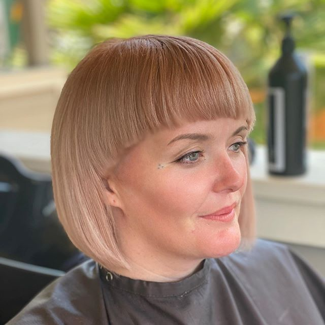 Best Asymmetrical Bob Hairstyle Ideas with Bangs