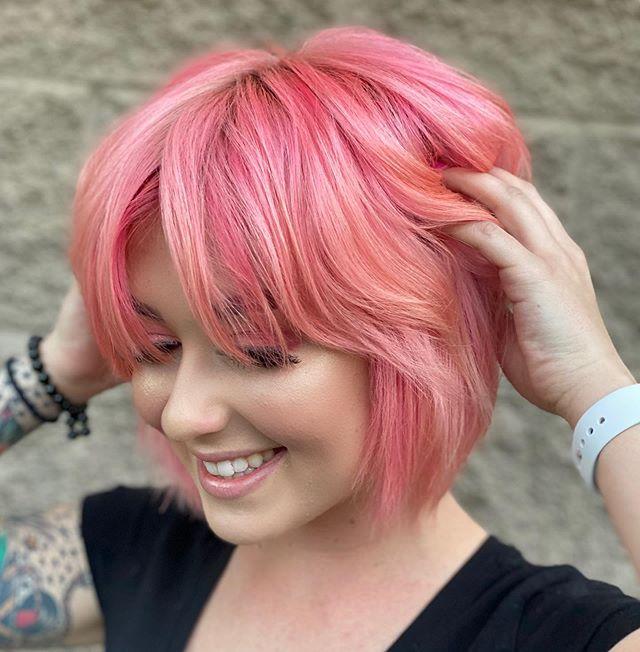 Pretty Pink Bob