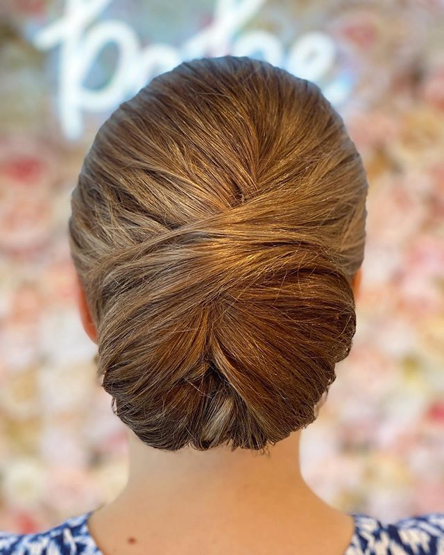 A Very Kate Middleton Chignon