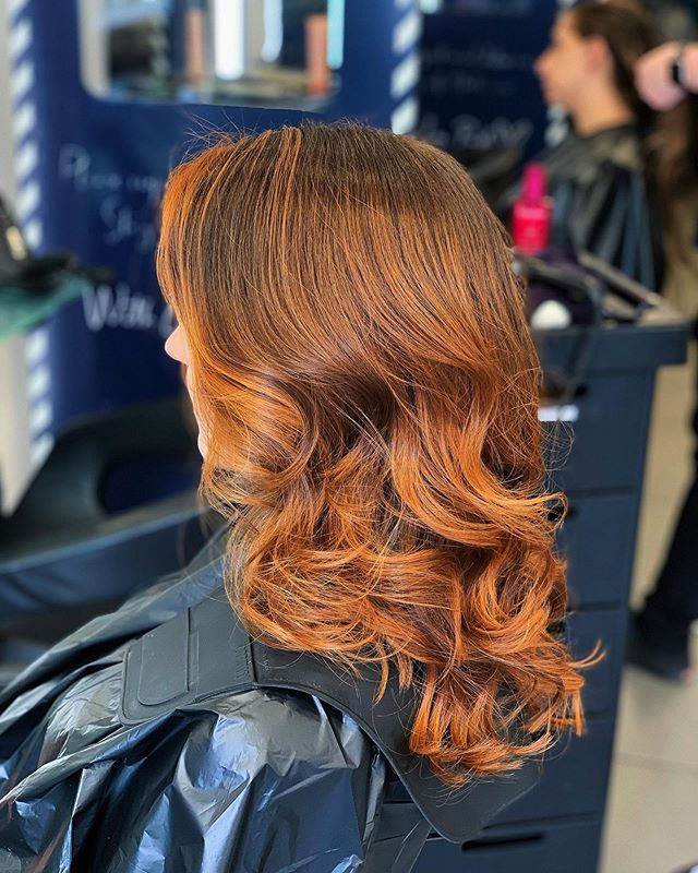 Best Feathered Hair Ideas With Balayage Highlights