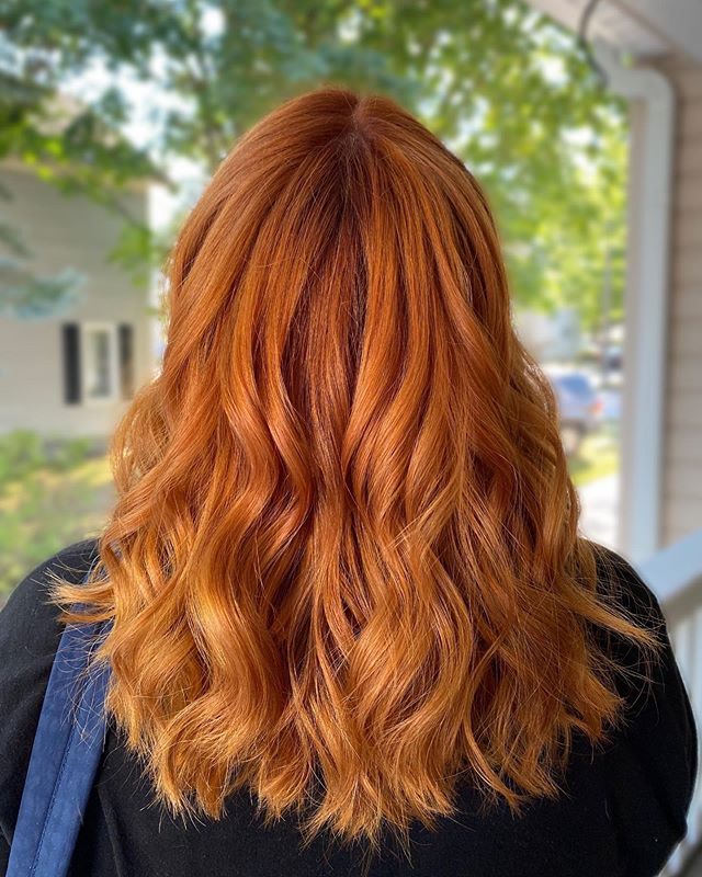 Best Copper Hair Color Ideas with Shiny Perfection