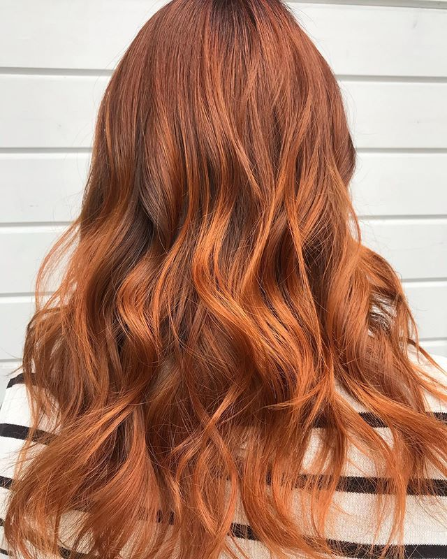 Fun Ferocious Flames with the Best Copper Hair Color Ideas