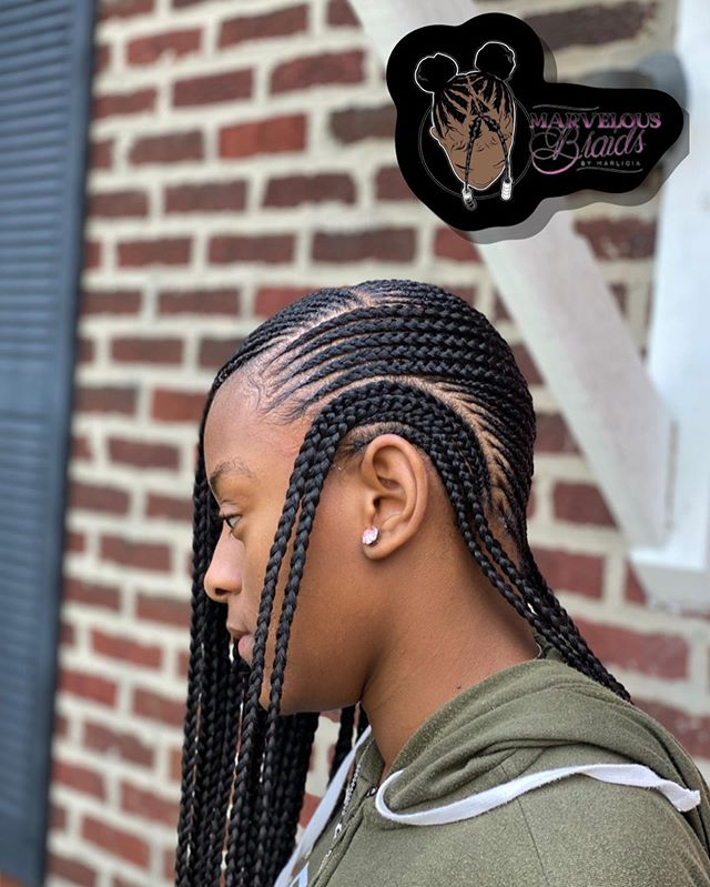 Unique Patterned Braids
