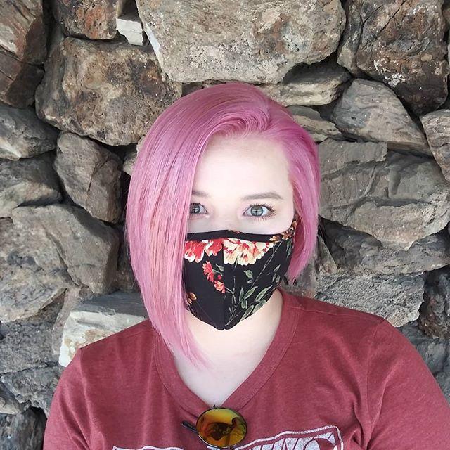 Pastel Pink Asymmetrical Haircut Idea
