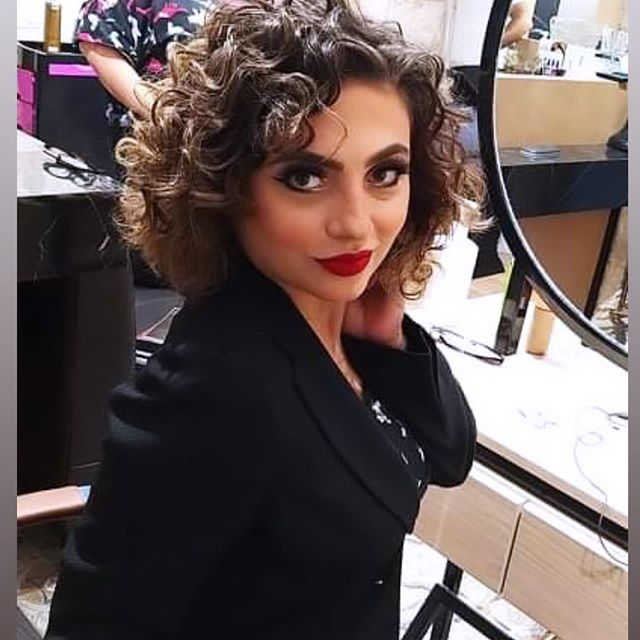 Curly Bob That's Perfect for Brunettes