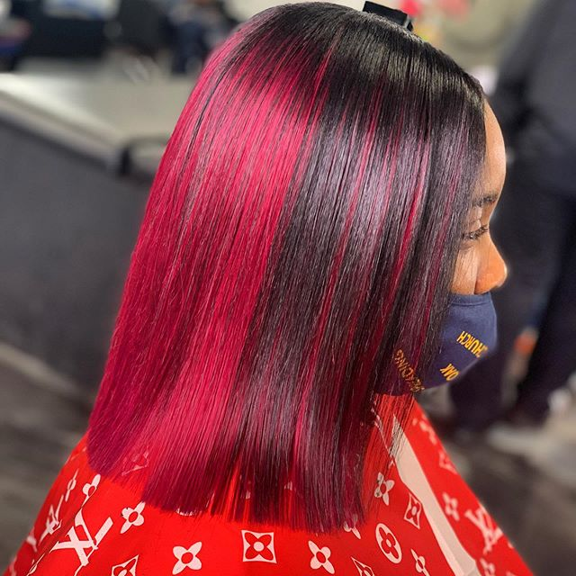 Vibrant Dual Layer Cut for a Colorfully Spirited Personality