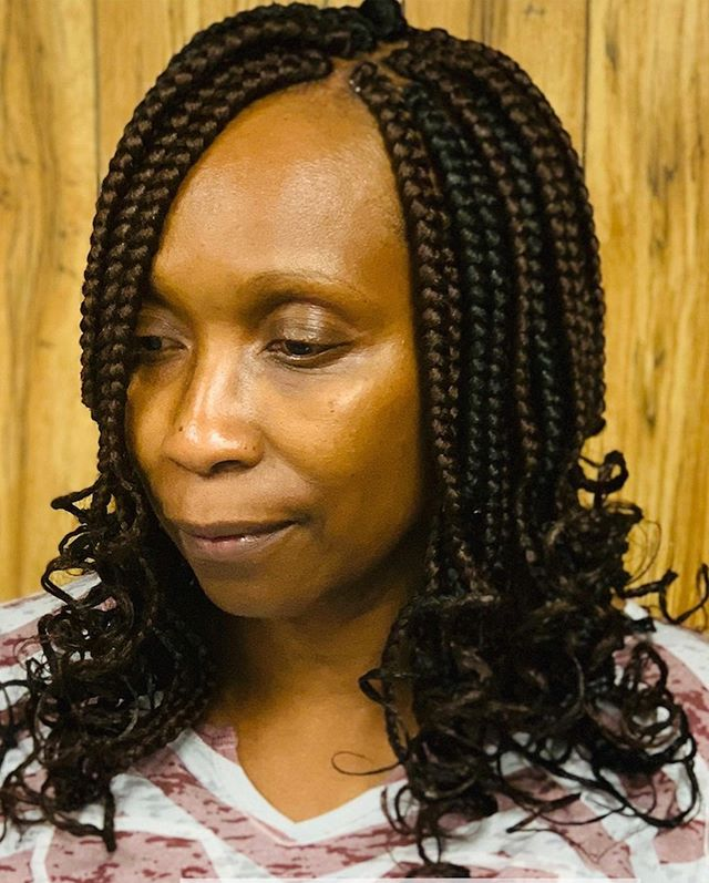 Chunky Braids with Locked-In Waves