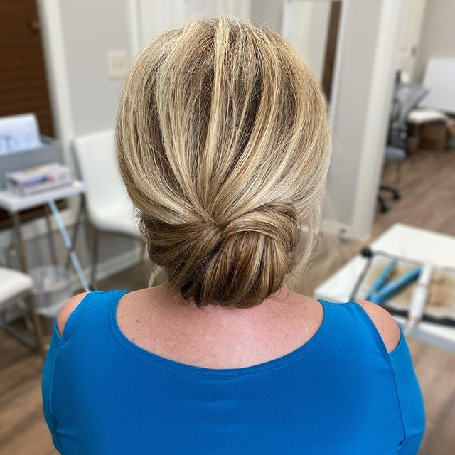 Elegant Chignon for a Modern-Traditional Look