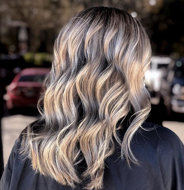 Ombre and Balayage with Long Layers