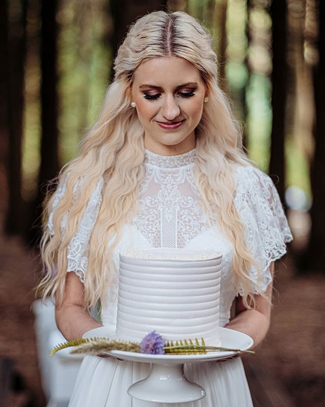 Ethereal Waves for a Woodland Fairy Bride