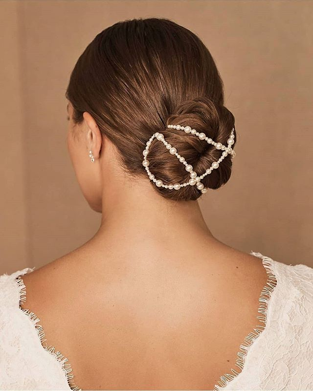 "An ""Ever After"" Worthy Bridal Bun"
