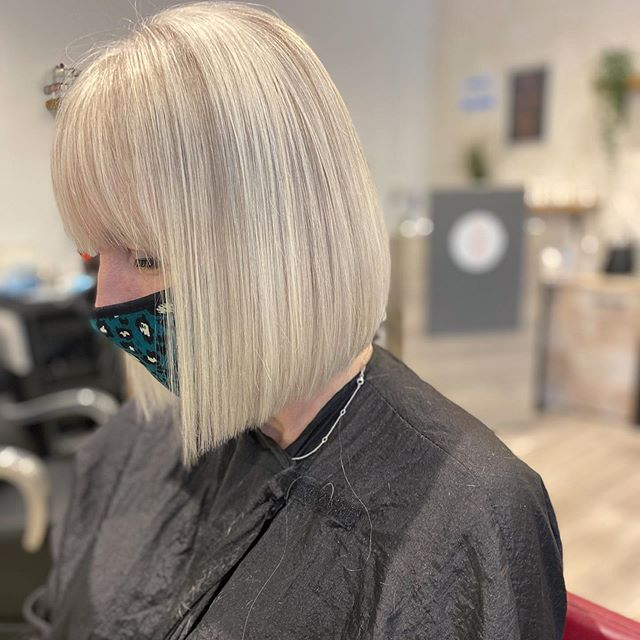 Funky Bang Style Blunt Bob Hairstyle for the Experimenter in You