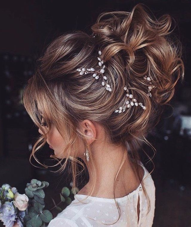 Cinderella Bun for a Ball Gown Bride