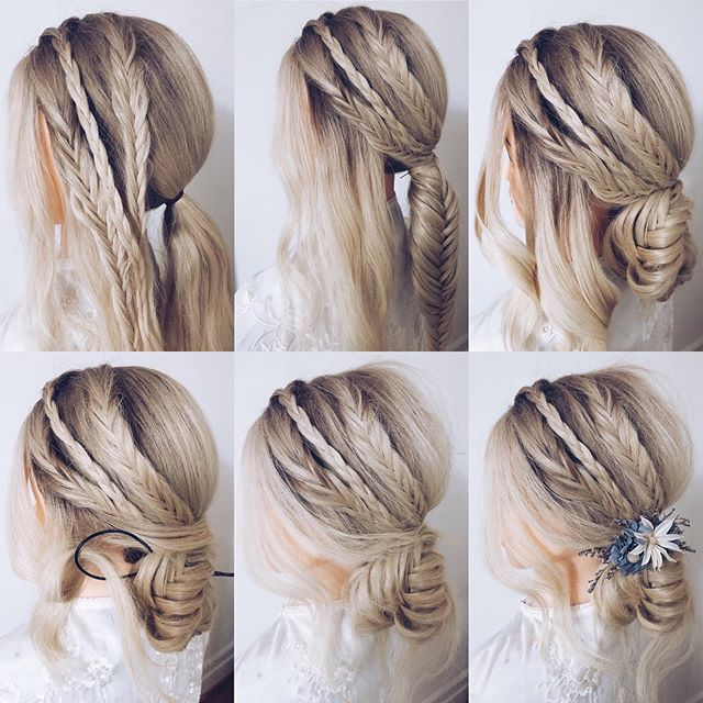 Sexy and Confident Bridal Hairstyles Side Braid