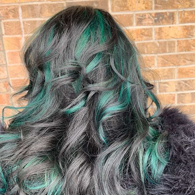 Mermaid Highlights For Brunettes