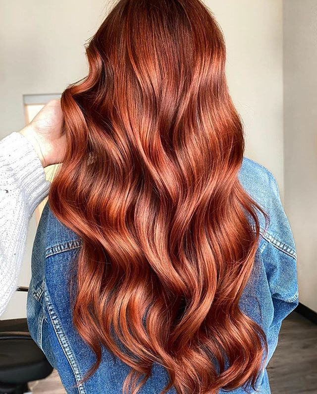 Naturally Radiant Auburn Waves