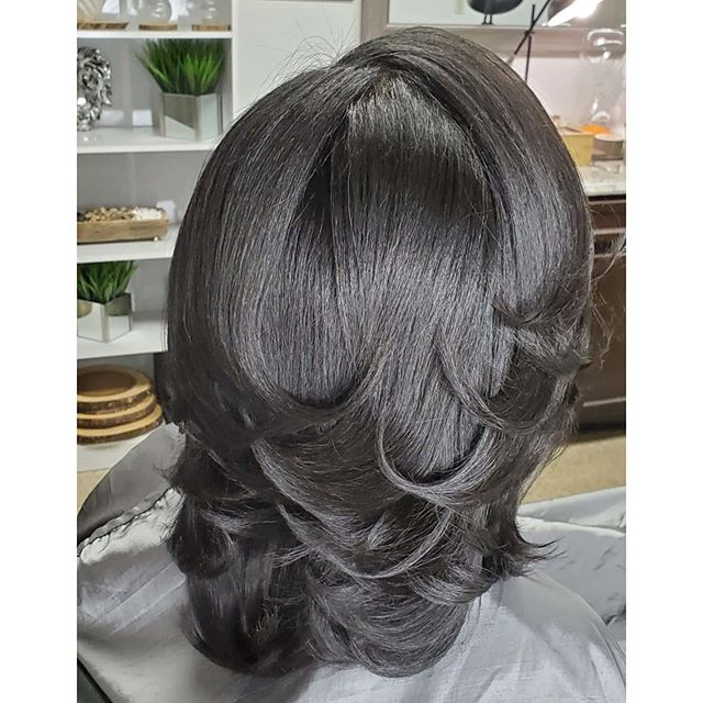 Beautiful Bob With Soft Curls