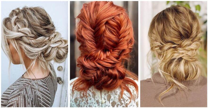 Best Braided Updo Hairstyle