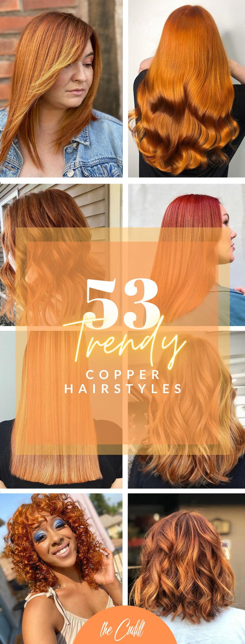 Best Copper Hair Color Ideas