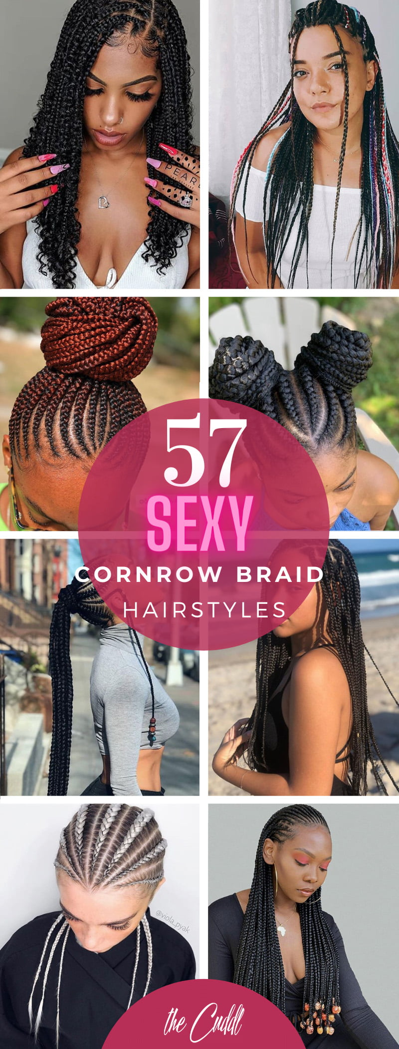 Best Cornrow Braids