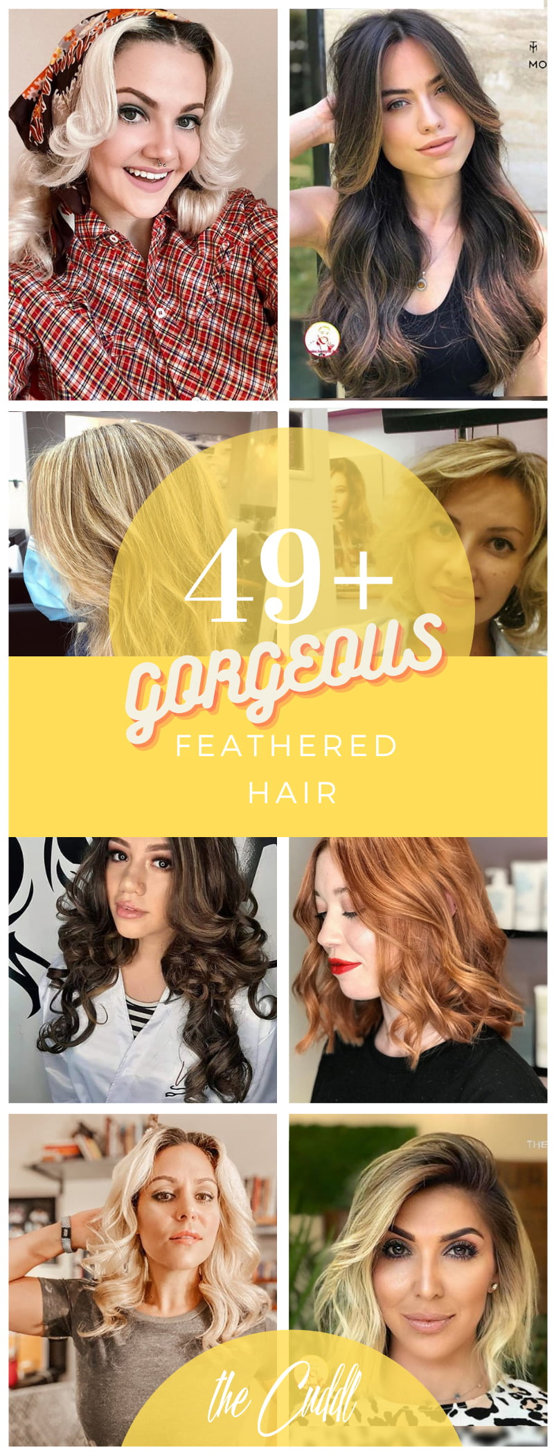 Best Feathered Hair Ideas