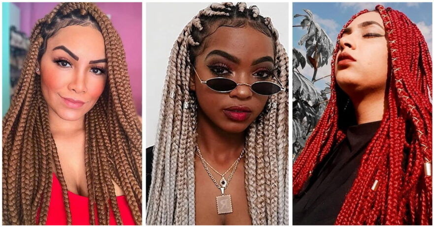 Best Jumbo Box Braid Styles