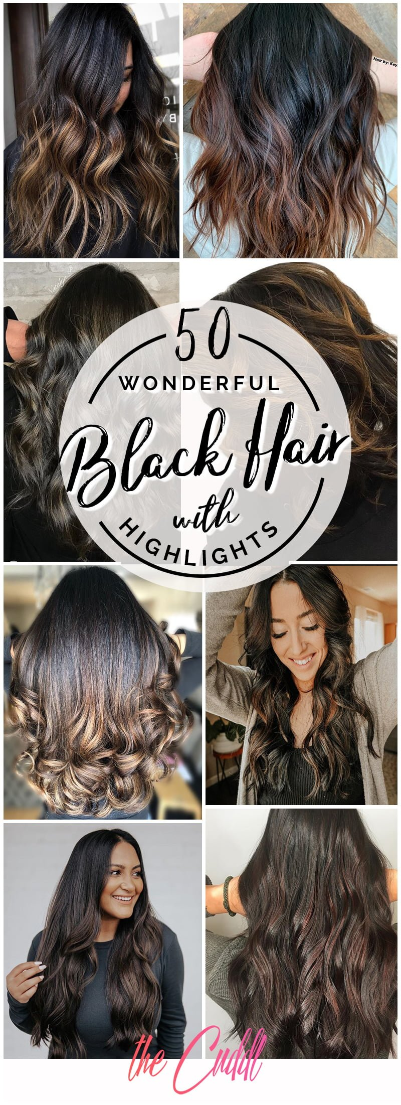 Black Hair Styles With Highlights