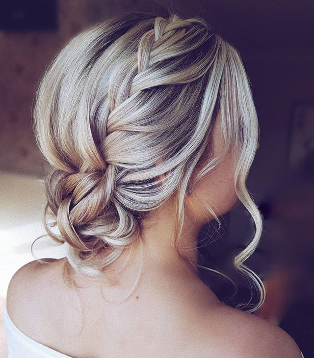 Best Bridesmaid Hairstyle Ideas With Low Knot