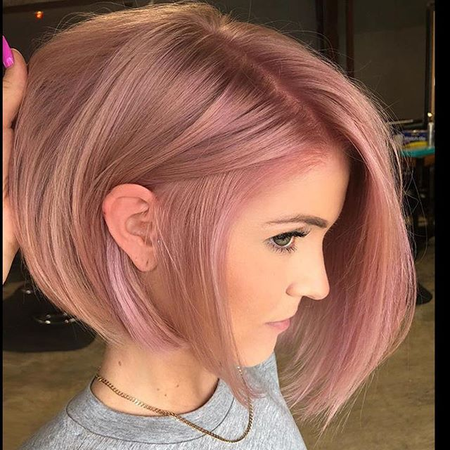 Sweet and Billowing Bob in Pastel Pink