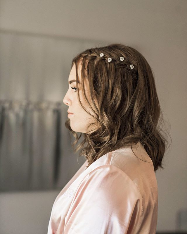 Dutch Braided Side Waterfall With Accessories