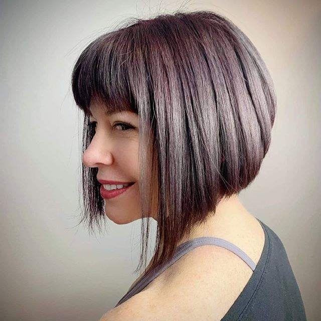 All Style Bands Inverted Bob Cut for the Cute, Small Face