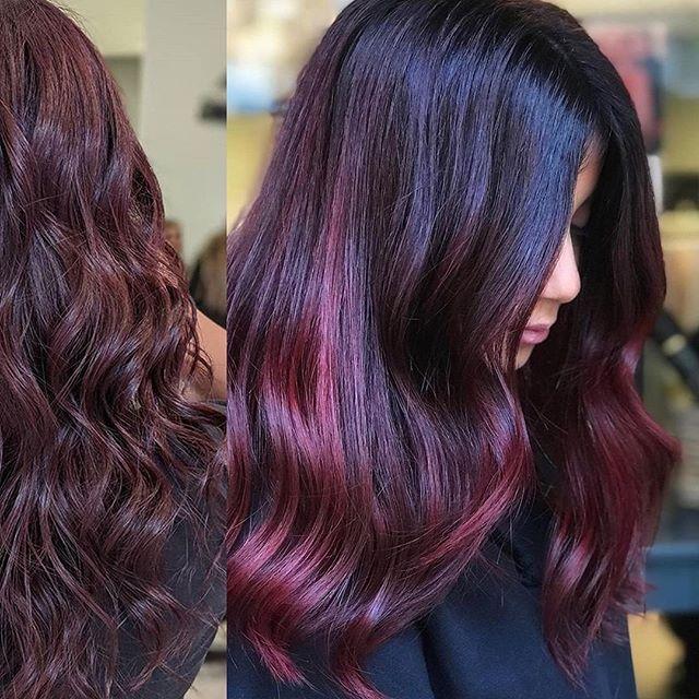 Delicious Magenta Tinted Dark Waves