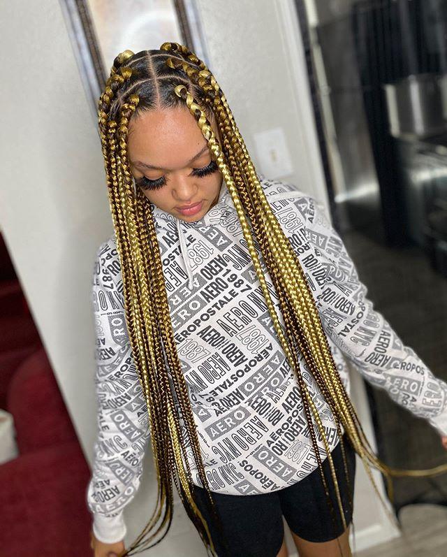Chic Golden Goddess