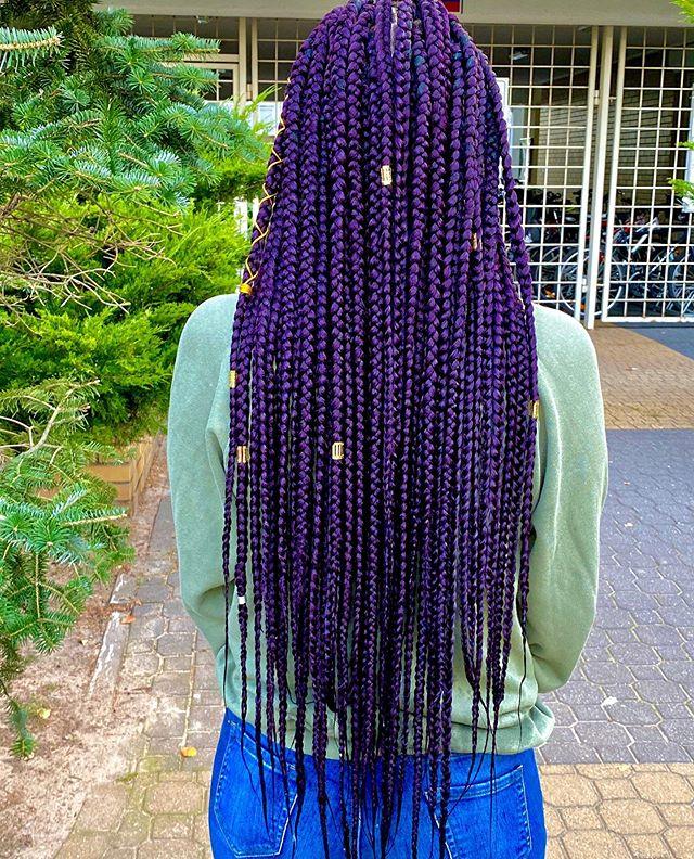 Purple Haze Box Braids