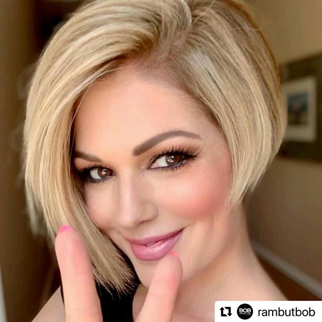 Heavy Side Inverted Bob Cut for the Cute Face