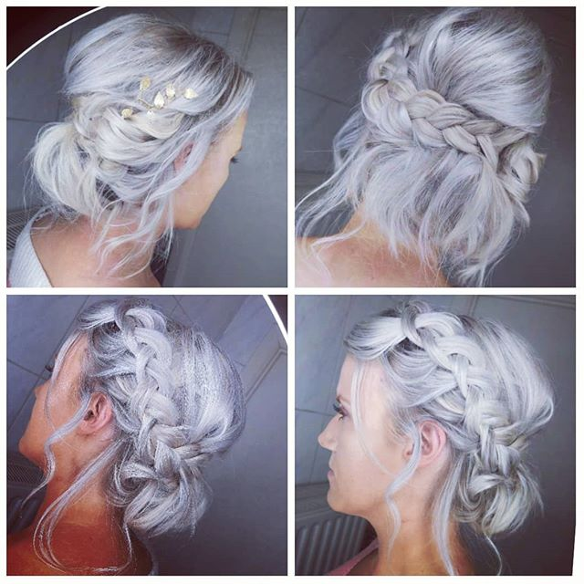 Whimsically Wrapped and Tucked Dutch Side-Braid