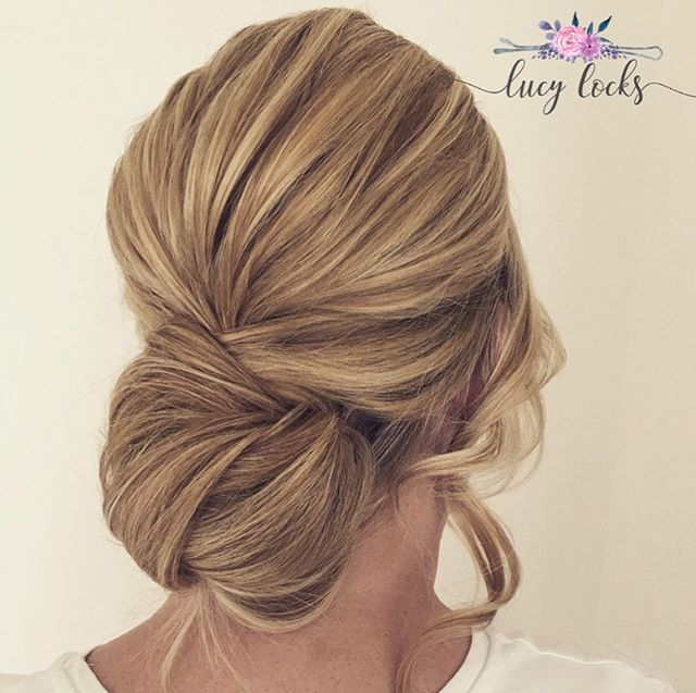 Captivating Twisted Low Bun Masterpiece