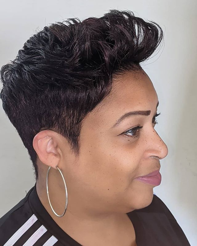 Bold Spiked Sleek Professional Cut