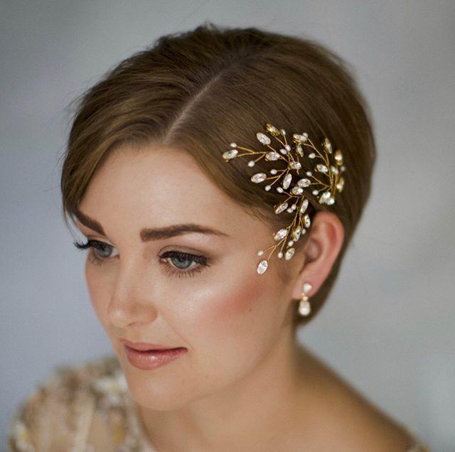 Delicate Hippie Chic Headband for Brides