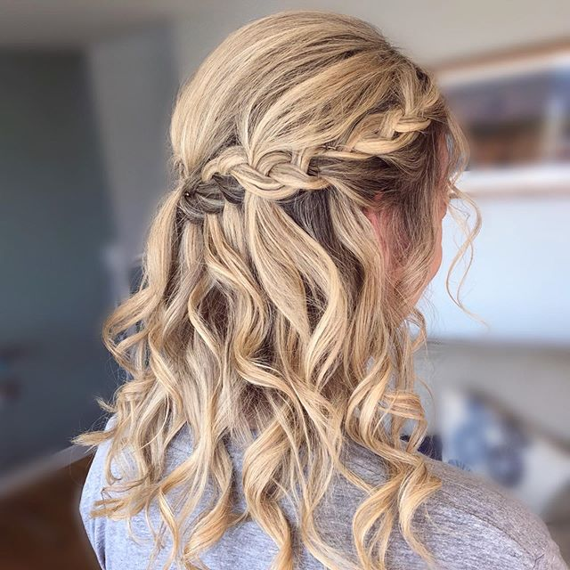 Half-Up, Side-Swept, and Dutch-Braided, All At Once